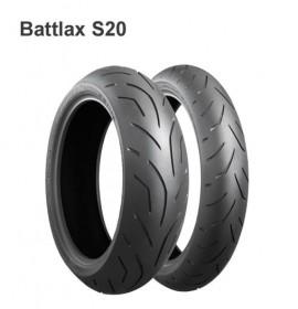 Моторезина 110/70 R17 54H TL F Bridgestone S20 Evo