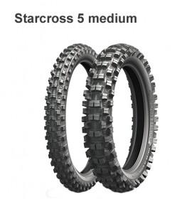 Моторезина 100/100 -18 59M TT R Michelin Starcross 5 Medium