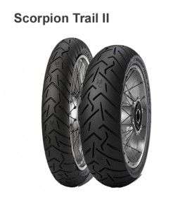Моторезина 100/90 -18 56V TL F Pirelli Scorpion Trail 2